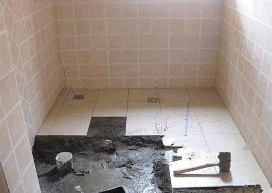 厨房卫生间作防水涂料施工处理注意事项