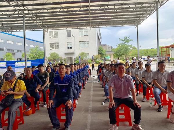 2019nianquan国建筑防水行业职业技能大赛华南赛区初赛成gong举行