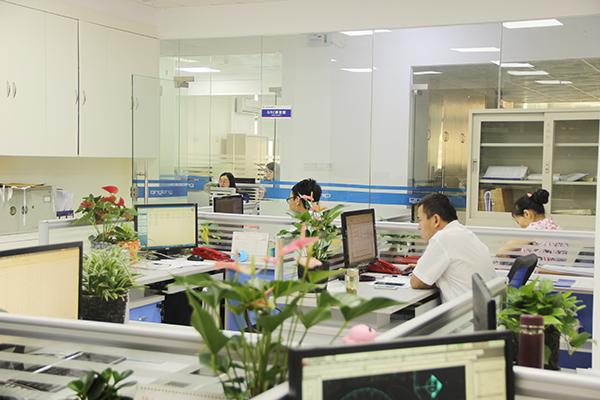 青龙新办公室成绿色海洋,员工心情好工作效率更高